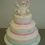 triple-decker-christening-cake