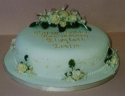 a-golden-anniversary-cake