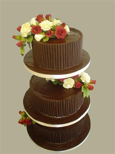 3-tier-chocolate-wedding-cake