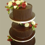 3-tier-chocolate-wedding-cake