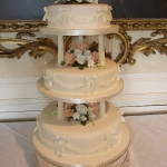 Three Tier Traditional with Bows