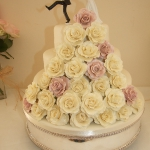 Roses Stack Cream and Pink