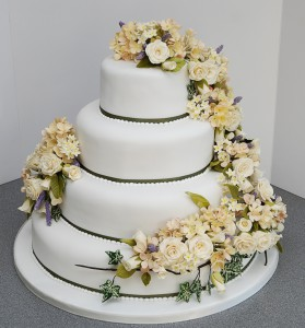 Wedding Course Cake 1