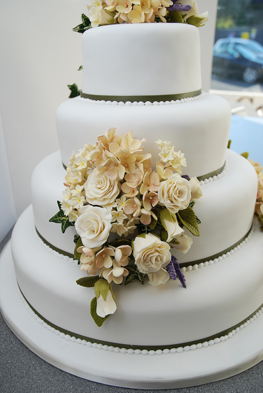 Wedding Course Cake 2